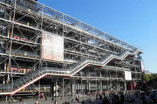 Centre Pompidou : Le temple des Arts modernes