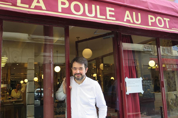 La Poule au Pot, authentic bourgeois cuisine