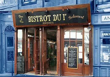 """THE """"COUP DE COEUR"""" LE BISTROT DU 1ER"""