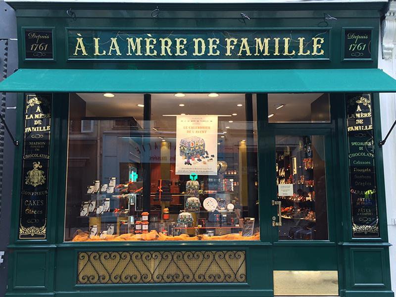 A La mère de Famille, le plus ancien chocolatier de Paris