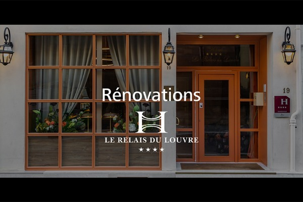 Renovation at Relais du Louvre