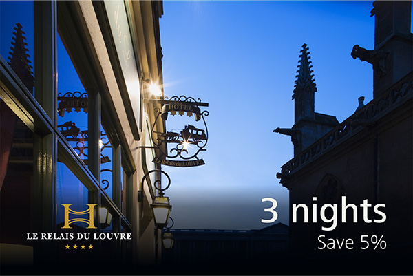 3 nights package -5%